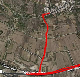 San Marzjan Hill - Zoomed in