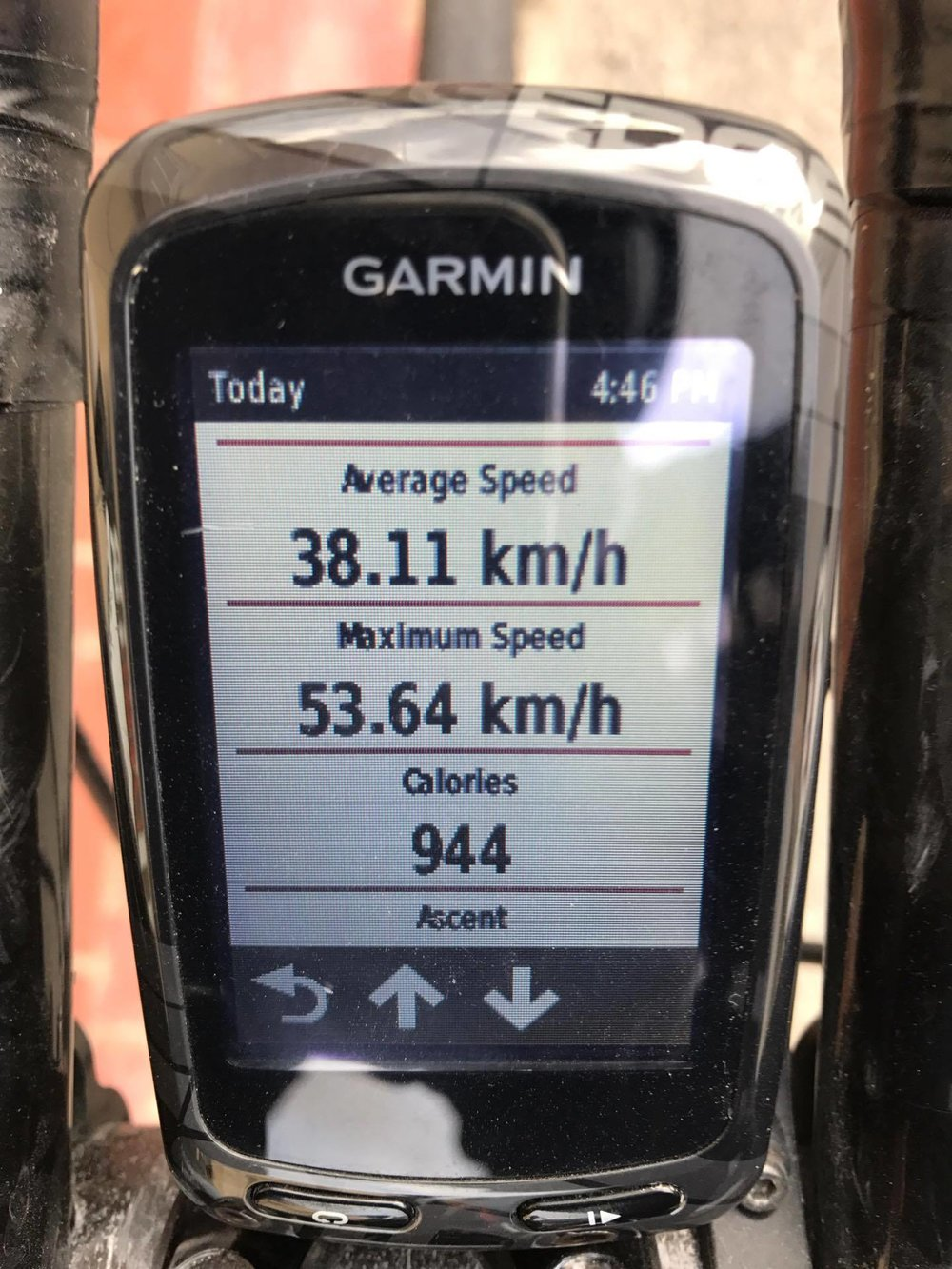 Iron Mike's Garmin-buddy