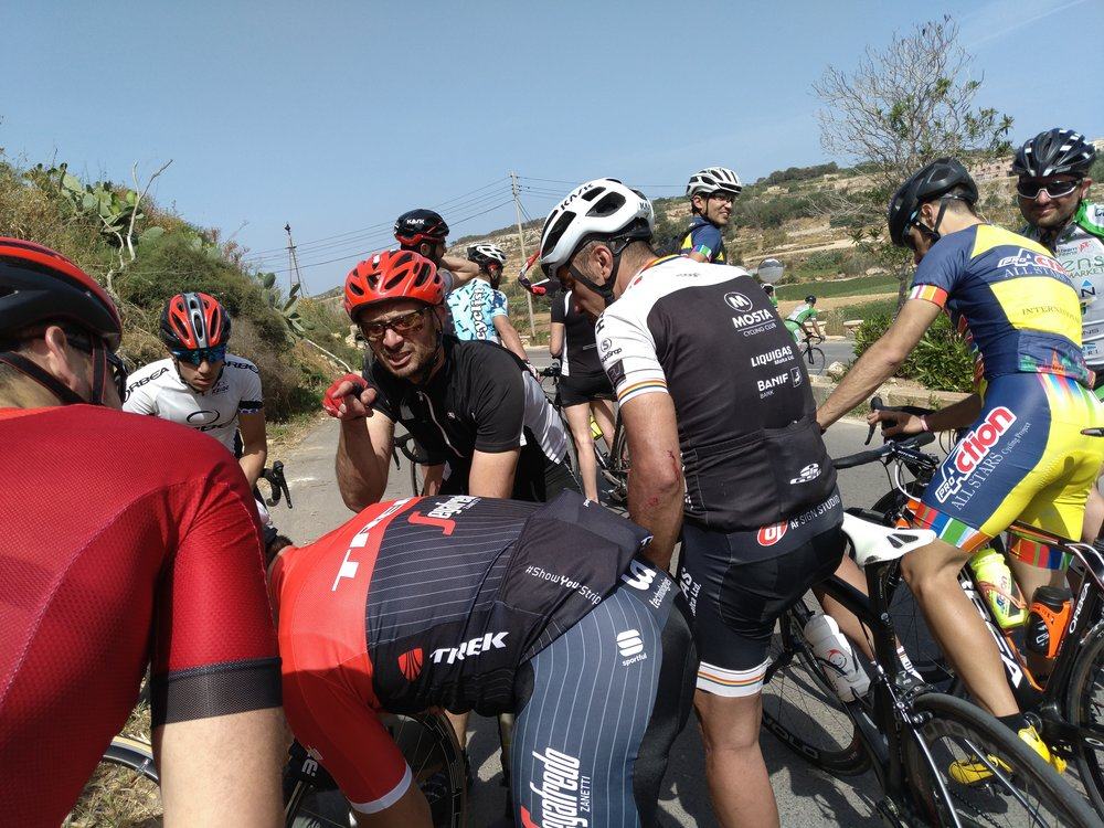 Master Domenix being impatient :D - whilst changing my puncture