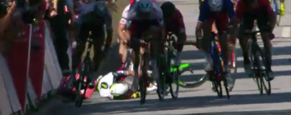 Cavendish on the ground