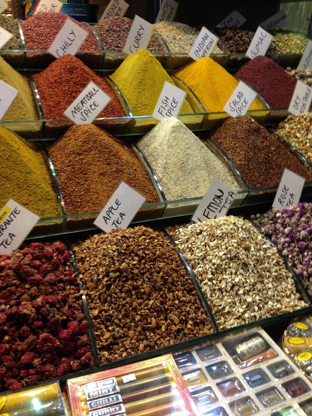 Spice Market- Istanbul, Turkey