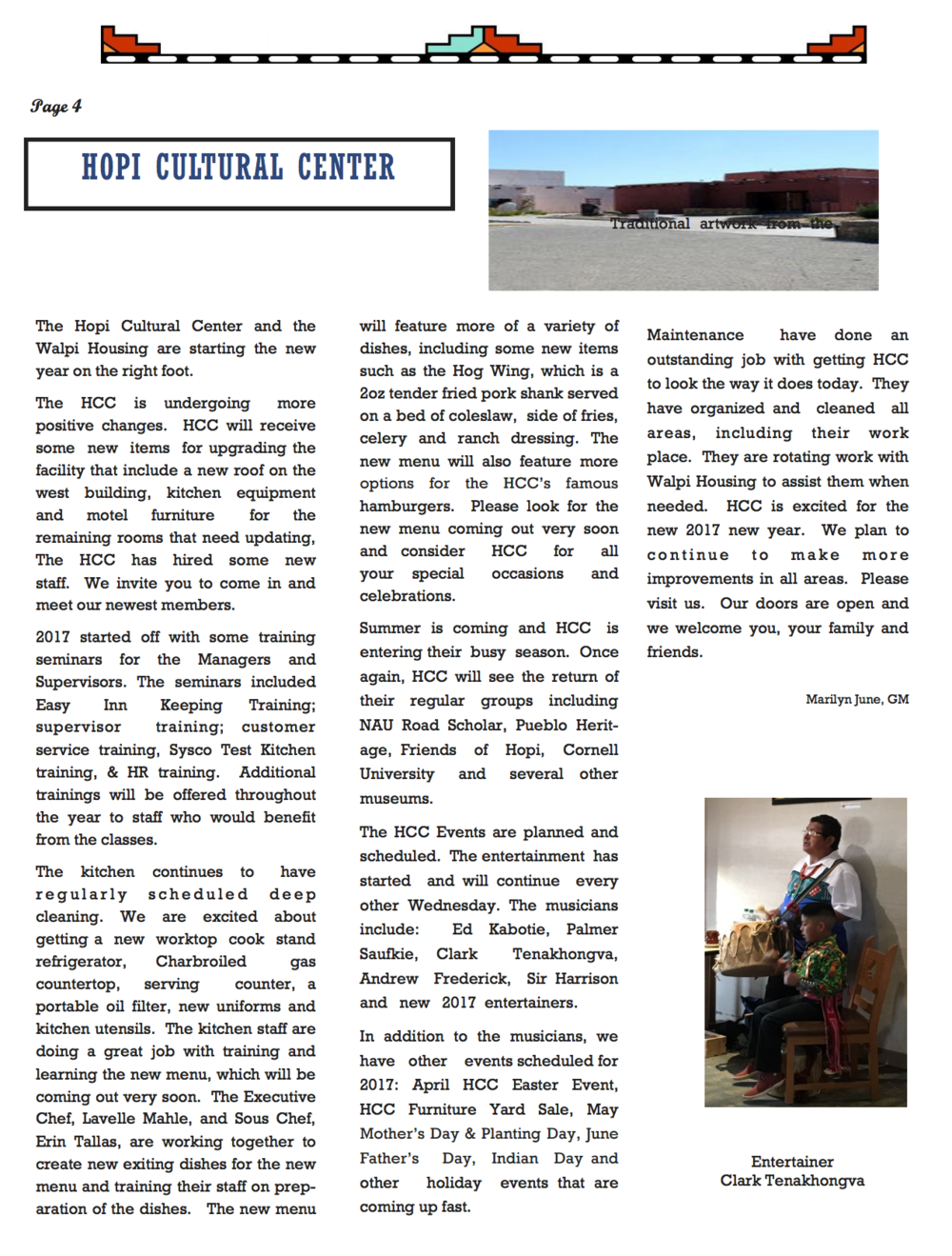 April Newsletter - Page 4