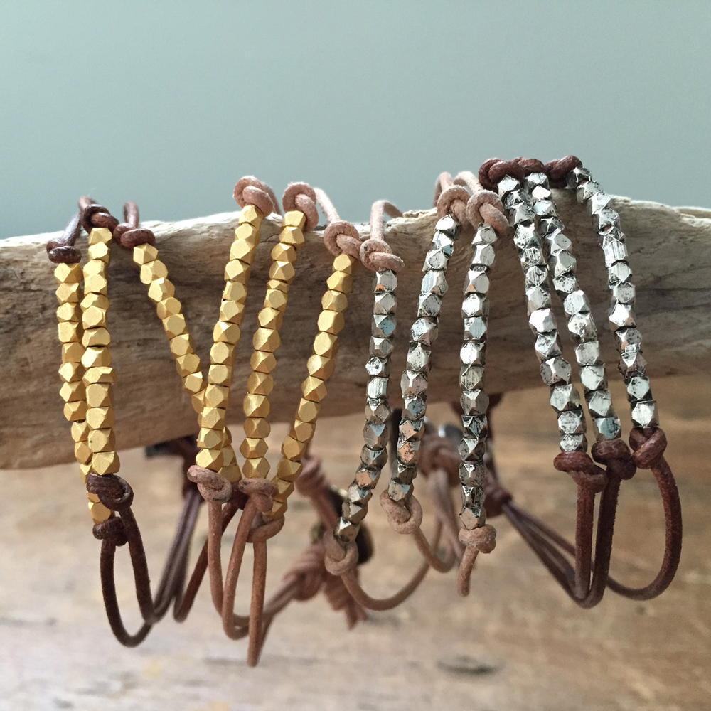 Leather Bracelrts -