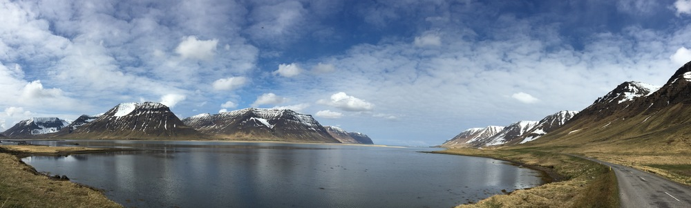 A clear day in the Westfjords, Iceland (Photo by Andrew Evans)