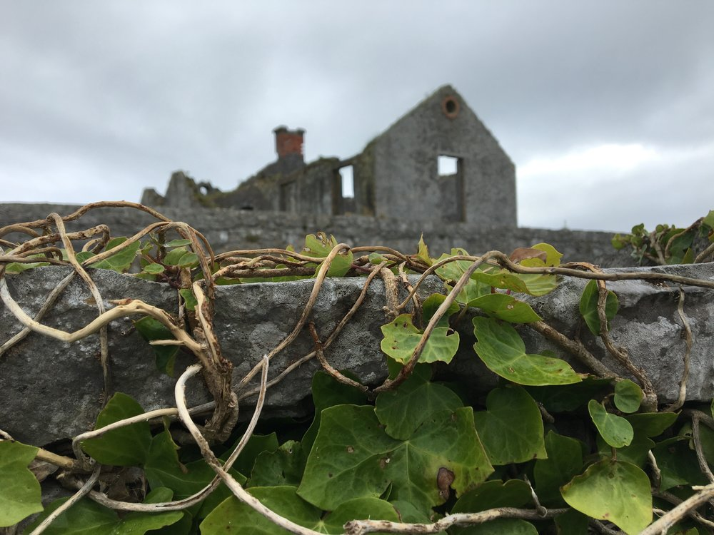Ruins on Inis Oírr (Photo by Andrew Evans)