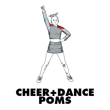 Cheer poms Dance Design Gallery