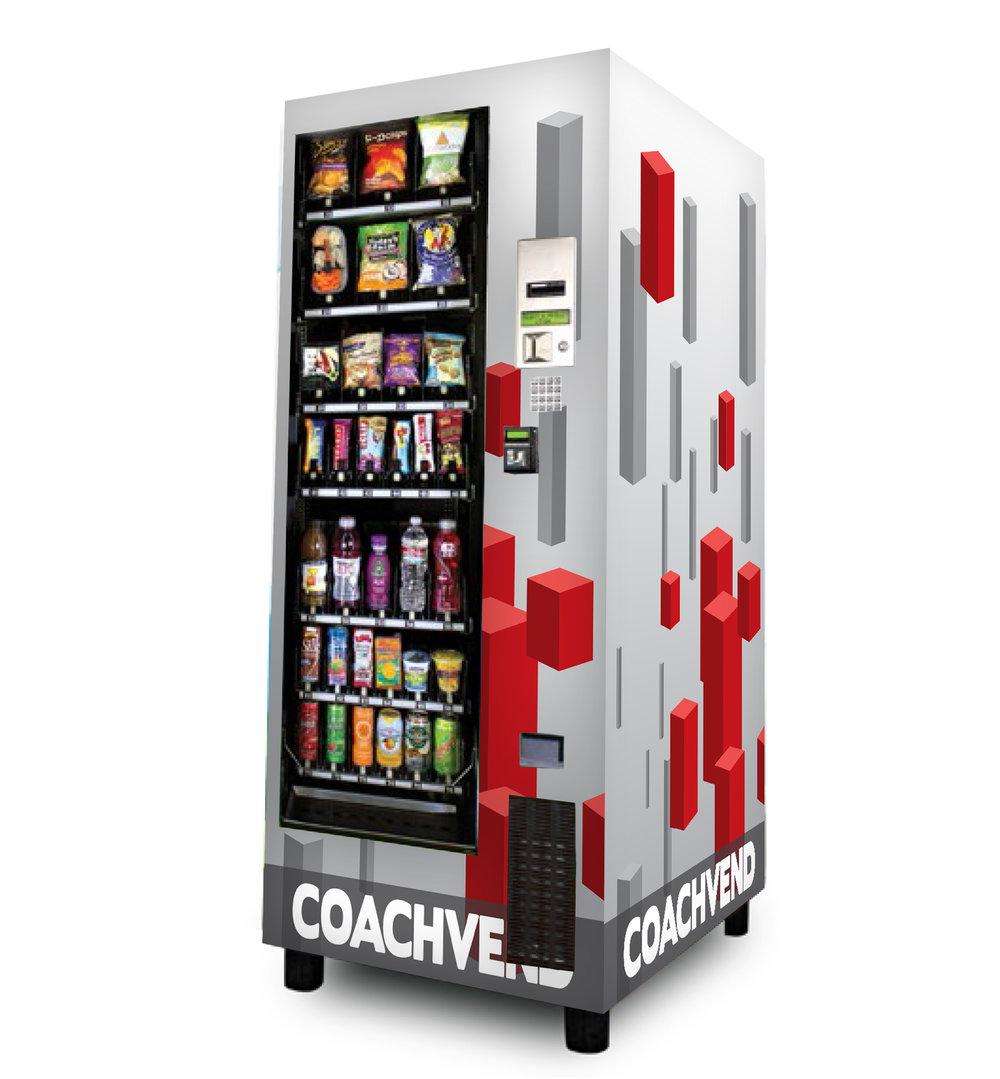 Custom vending machine wraps.