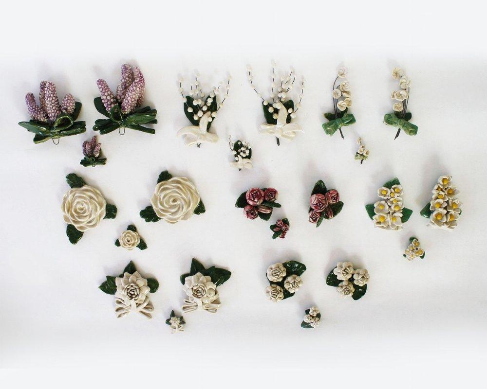 Porcelain Floweres