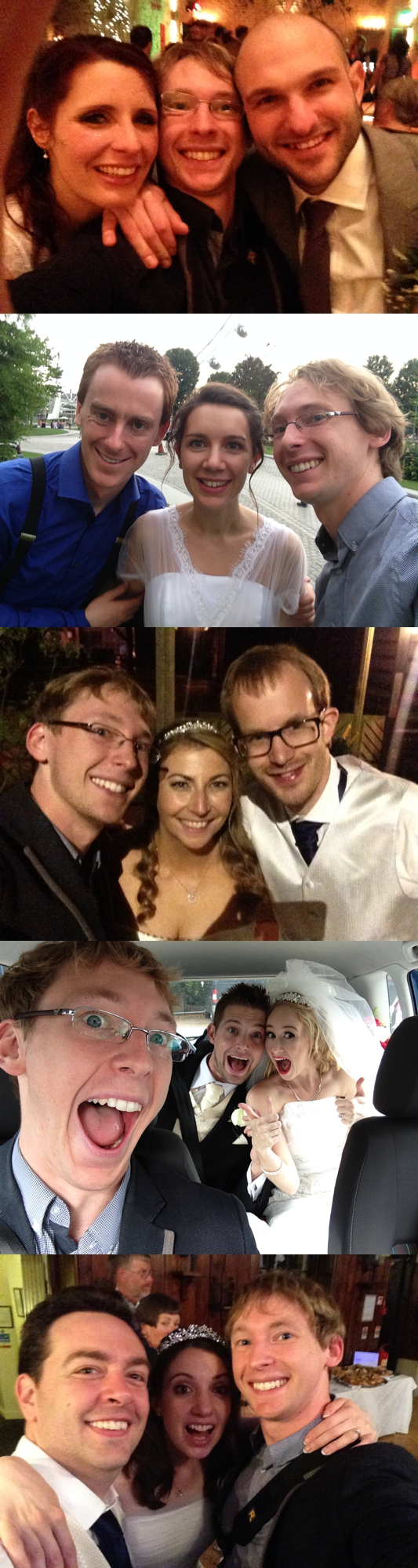 A small selection of my amazing couples!
