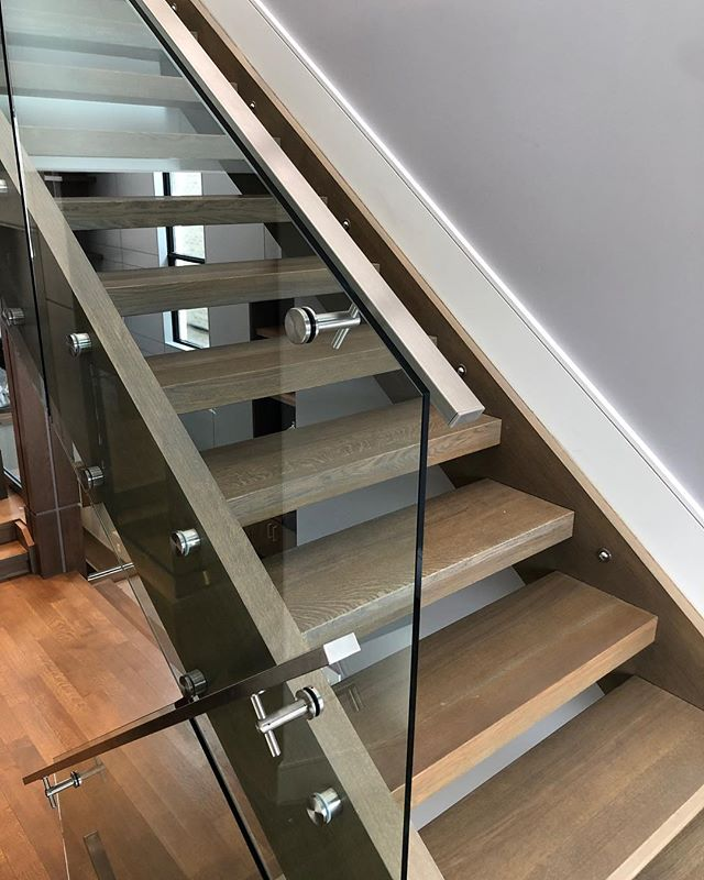Your home WOOD'nt be the same without us!  #stairsbymillennium  #stairs #ajax #homeimprovement #homesweethome #custom #builtforyou #homestyle #interiordesign #home #designlife #stairsofinstagram