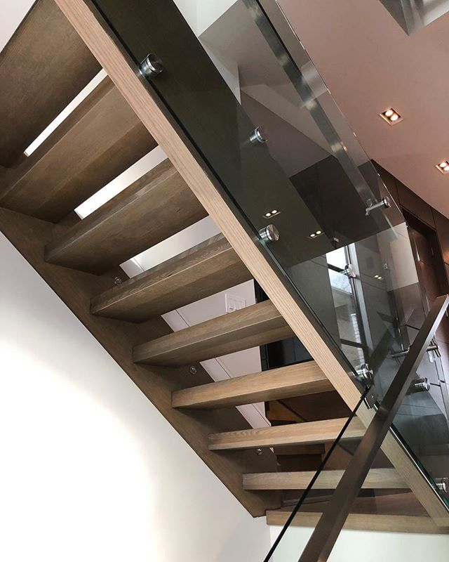 Your home WOOD'nt be the same without us! 🛠#stairsbymillennium  #stairs #ajax #homeimprovement #homesweethome #custom #builtforyou #homestyle #interiordesign #home #designlife #stairsofinstagram