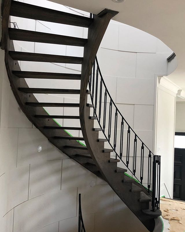 #stairsbymillennium  #stairs #ajax #homeimprovement #homesweethome #custom #builtforyou #homestyle #interiordesign #home #designlife #stairsofinstagram #architecture #architecturedaily #architectural #designedbyyou #customstairs #customstairsandrailings #customstaircase