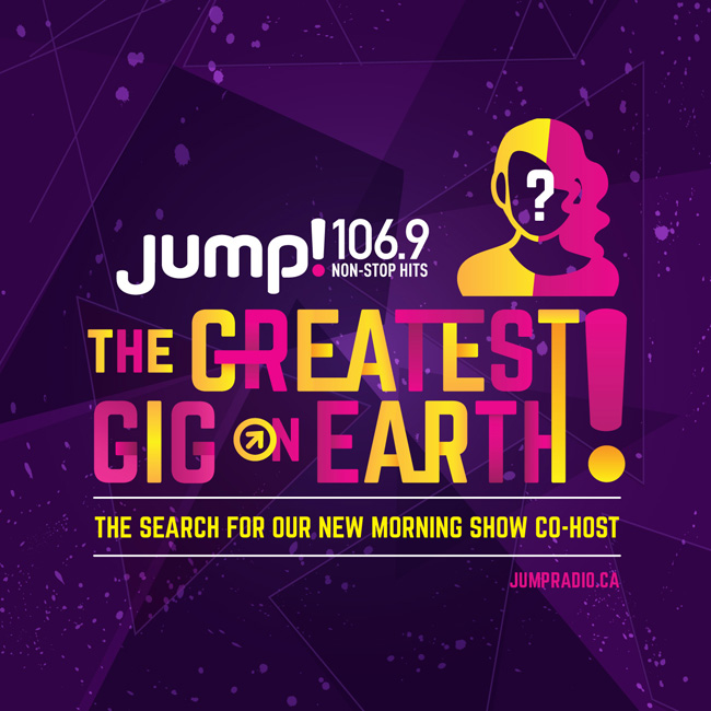 JUMP! 106.9, The Greatest Gig On Earth, Campaign Branding
