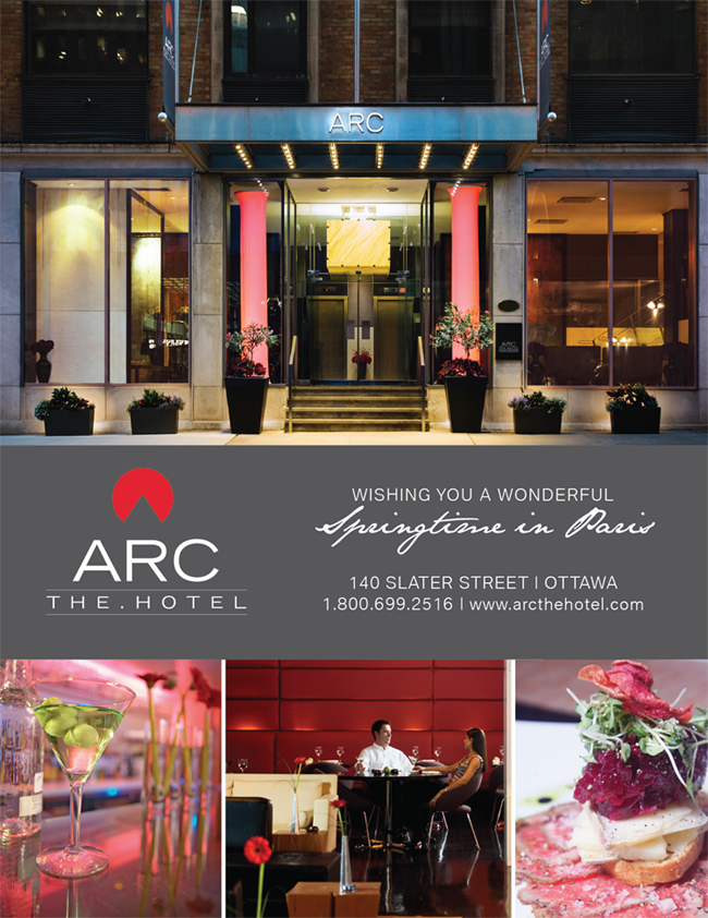 ARC The.Hotel Event Invitation