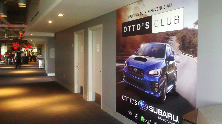 Otto's Ottawa, inside the Otto's Club at TD Place Stadium