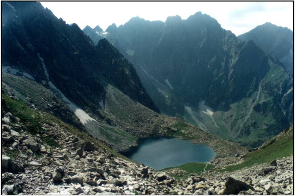 High Tatras lake, Czechoslovakia