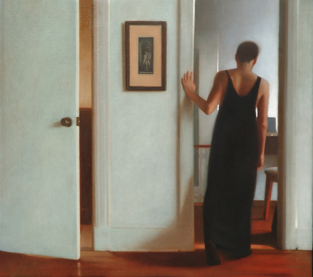 Walkabout , 2007, Oil on linen, 18 x 24 inches, Private collection