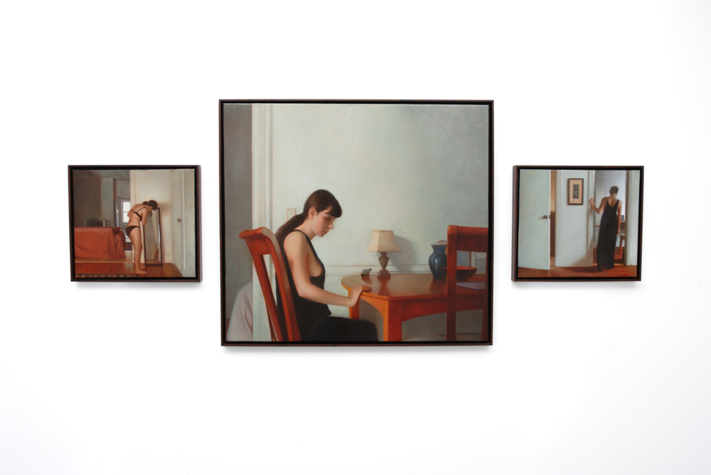 Transposition (Diploma Project, installed at the New York Academy of Art), 2007, Oil on linen, Private collection(s)