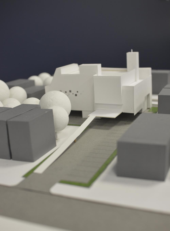 initial massing scheme