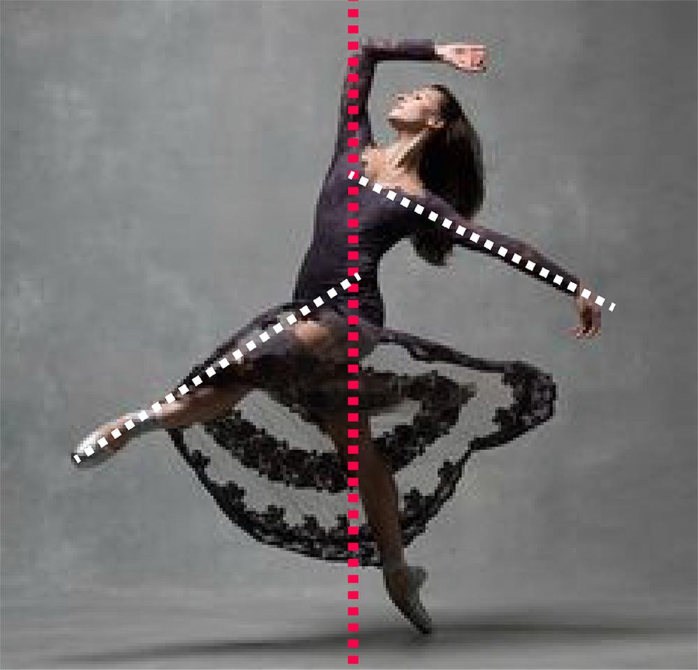 dynamism of dancer