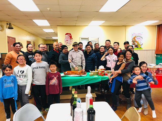 The initial morning crew. Good seeing everyone today for the #holidayparty ! — #martialarts #fma #docepares #eskrima #kali #arnis #jerseycity #mabuhay #eskrimador #pinoy #filipino #stickfighting #martialartslife #selfdefense #mindlikewater #trainhard
