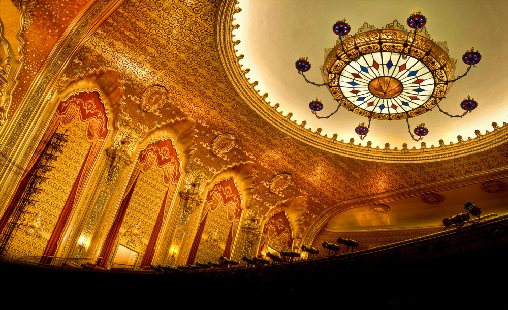 The Stanley Theater Chandelier Utica NY by Matt Ossowski