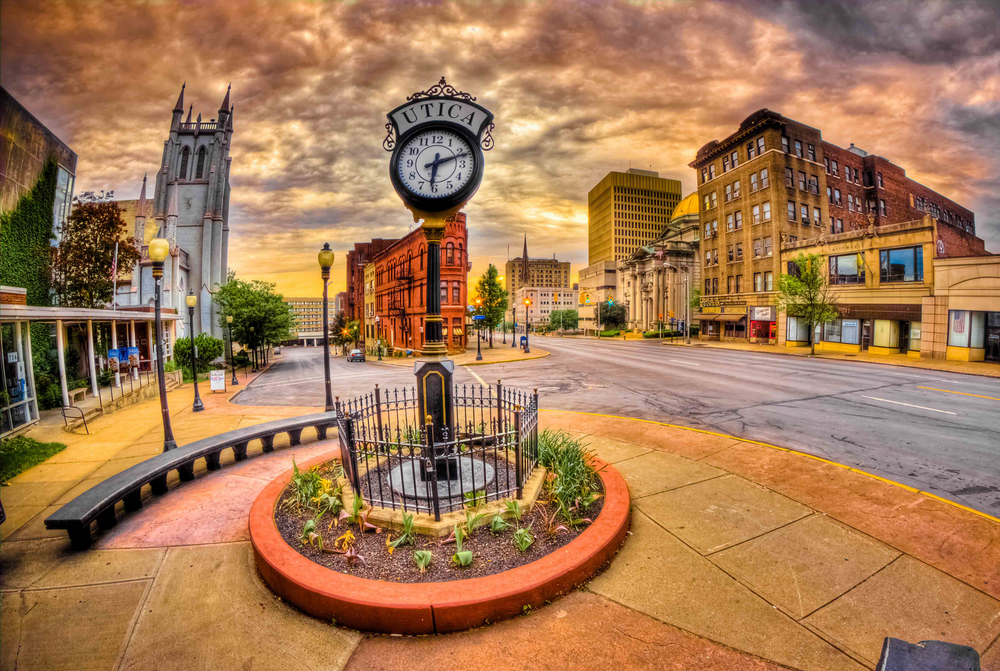 Downtown Utica NY by Matt Ossowski