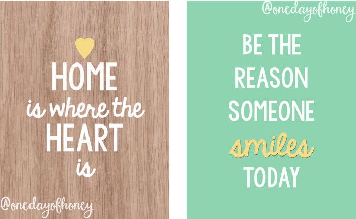 Free wall art printables! Click here: http://bit.ly/wallartprintables