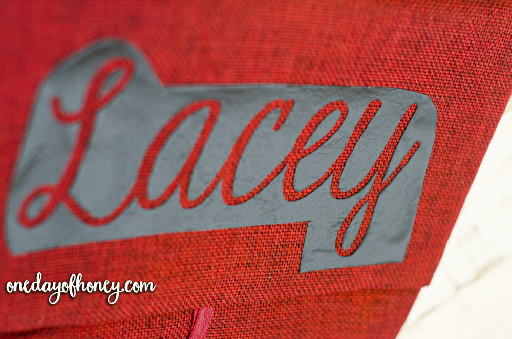 How to Make a Personalized Christmas Stocking for Less Than $6! Click here:http://bit.ly/personalizedchristmasstocking