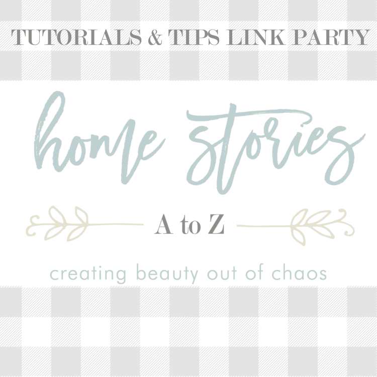Tutorials & Tips Link Party