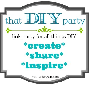 That DIY Party Link Party