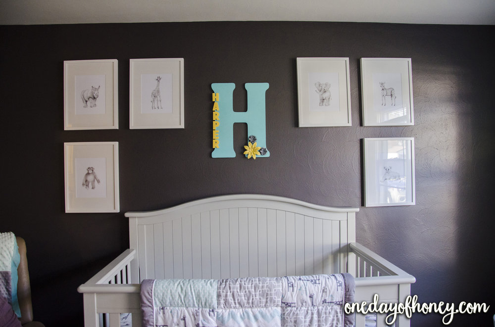 "Beautiful Baby Girl Nursery - This lovely nursery will be treasured for years, and has a great foundation for a smooth transition between infancy to toddlerhood to adolescence. Also, sign up for a free ""Baby Registry Checklist,"" included here: http://bit.ly/babynursery1"