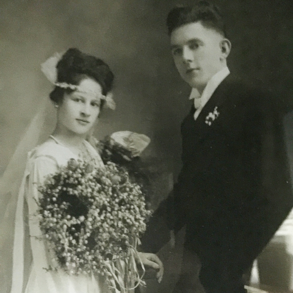 My original Goddess on her wedding day in 1919