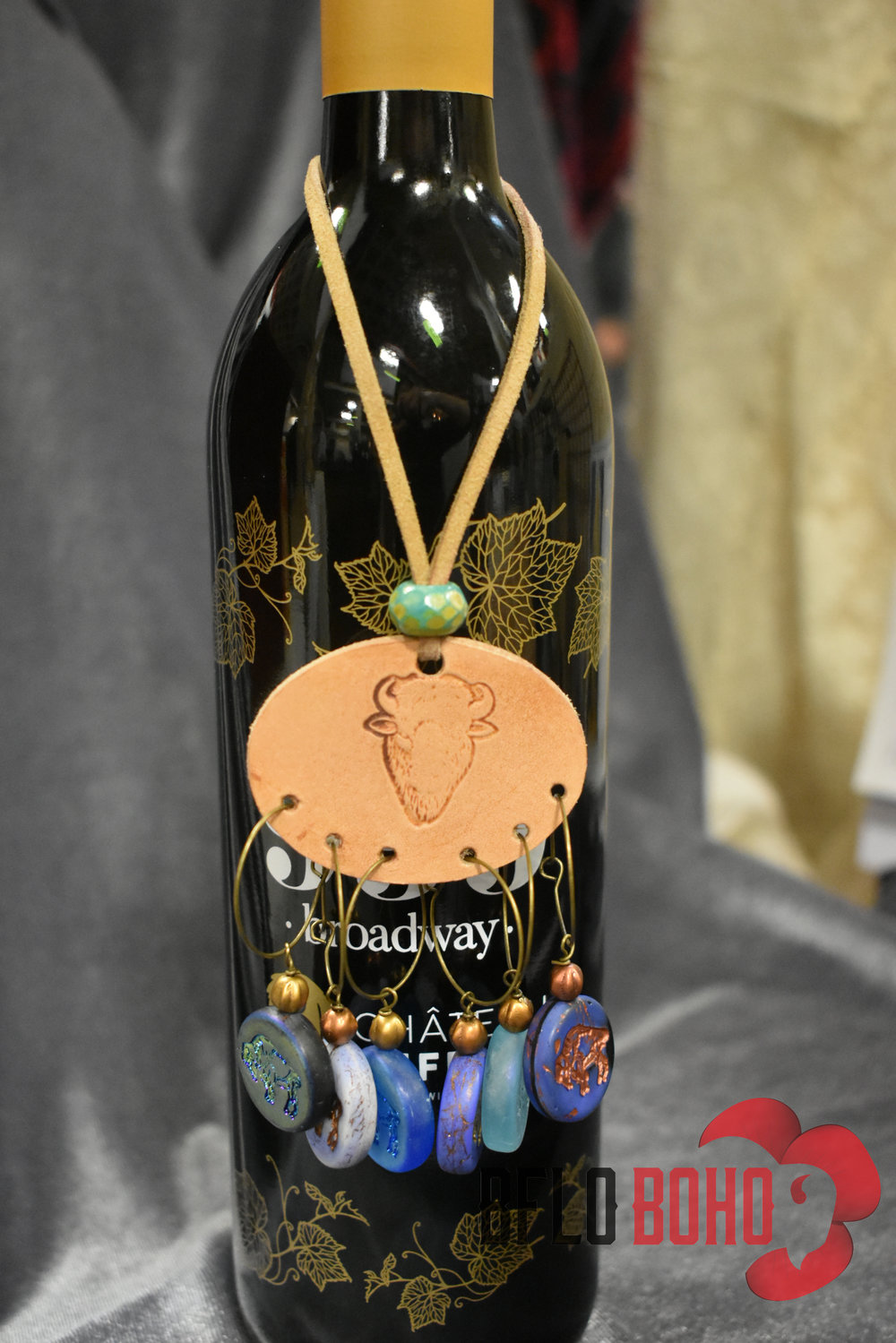 We created our gorgeous Chateau Buffalo wine charms in tribute to Carl and Susie — and their incredible product — and offer $2.50 off any wine charm purchase at our Broadway Market booth - if you buy a bottle next door. Click the listing below to have a set shipped . Use discount code CHATBUFF and we'll ship them for free…