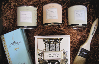 MAGNOLIA HOME PRESS KIT Joanna Gaines of the popular HGTV television show Fixer Upper collaborated her personal Magnolia Home brand with KILZ Paint to create custom colors reflective of her aesthetic.