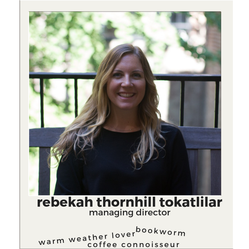 Rebekah Thornhill  Assistant Director  Email Rebekah   (212) 998 - 4111