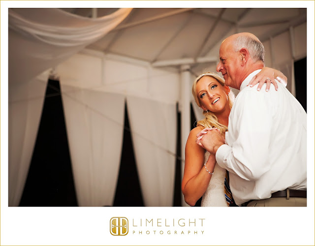 """These were a few of the most amazing moments captured on my wedding day. Growing up, my Dad always carried a handkerchief. This was the perfect gift for my Dad on my wedding day! My dad has always been there for me, and is my biggest supporter. We have been through a lot over the last several years, and our bond continues to grow stronger. A father is the glue that holds a family together. These pictures mean the world to me, as they truly captured the love between a father and his baby on her wedding day.""- Kerry + Stevie 