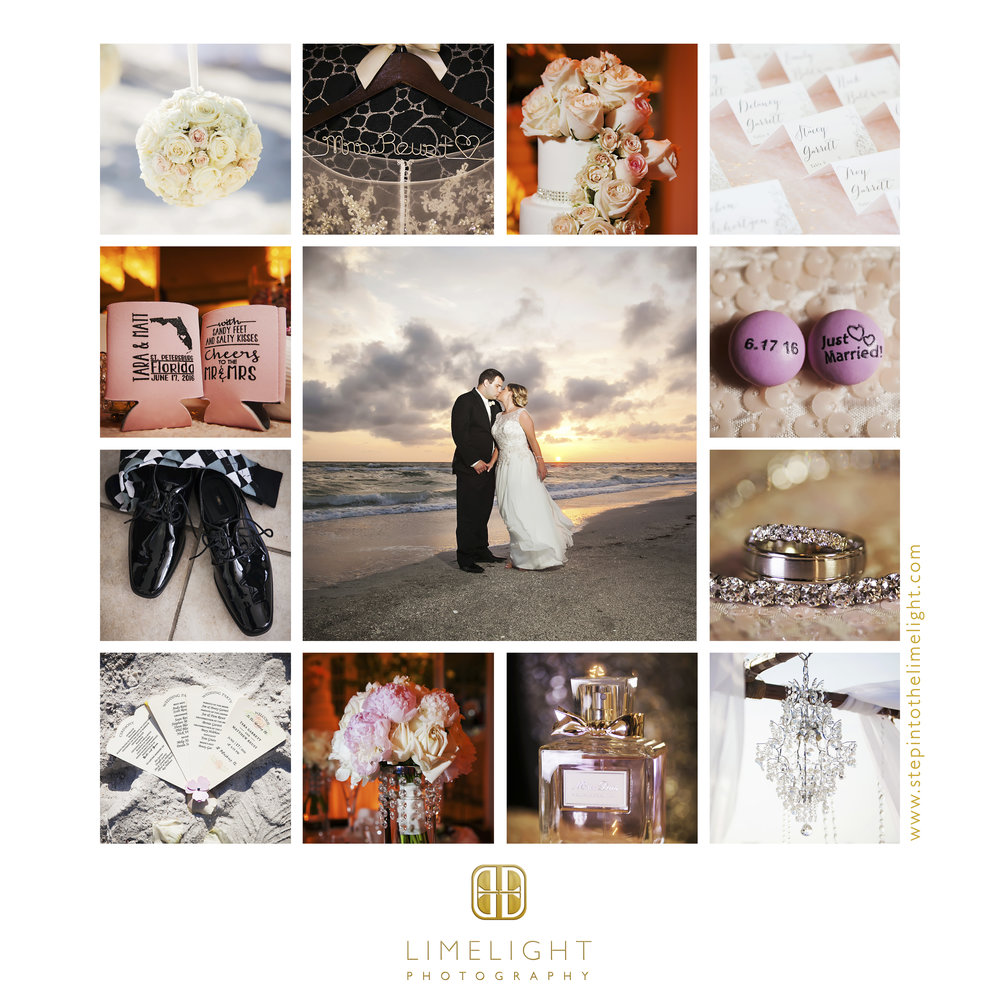Wedding | Bride | Groom | Grand Plaza Hotel | St. Petersburg | Florida | Step Into The Limelight | Limelight Photography