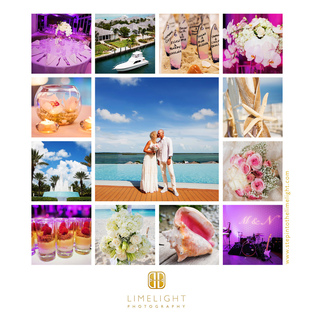 Destination Wedding | Bride | Groom | Hilton at Resorts World Bimini | Bimini | Bahamas | Step Into The Limelight | Limelight Photography