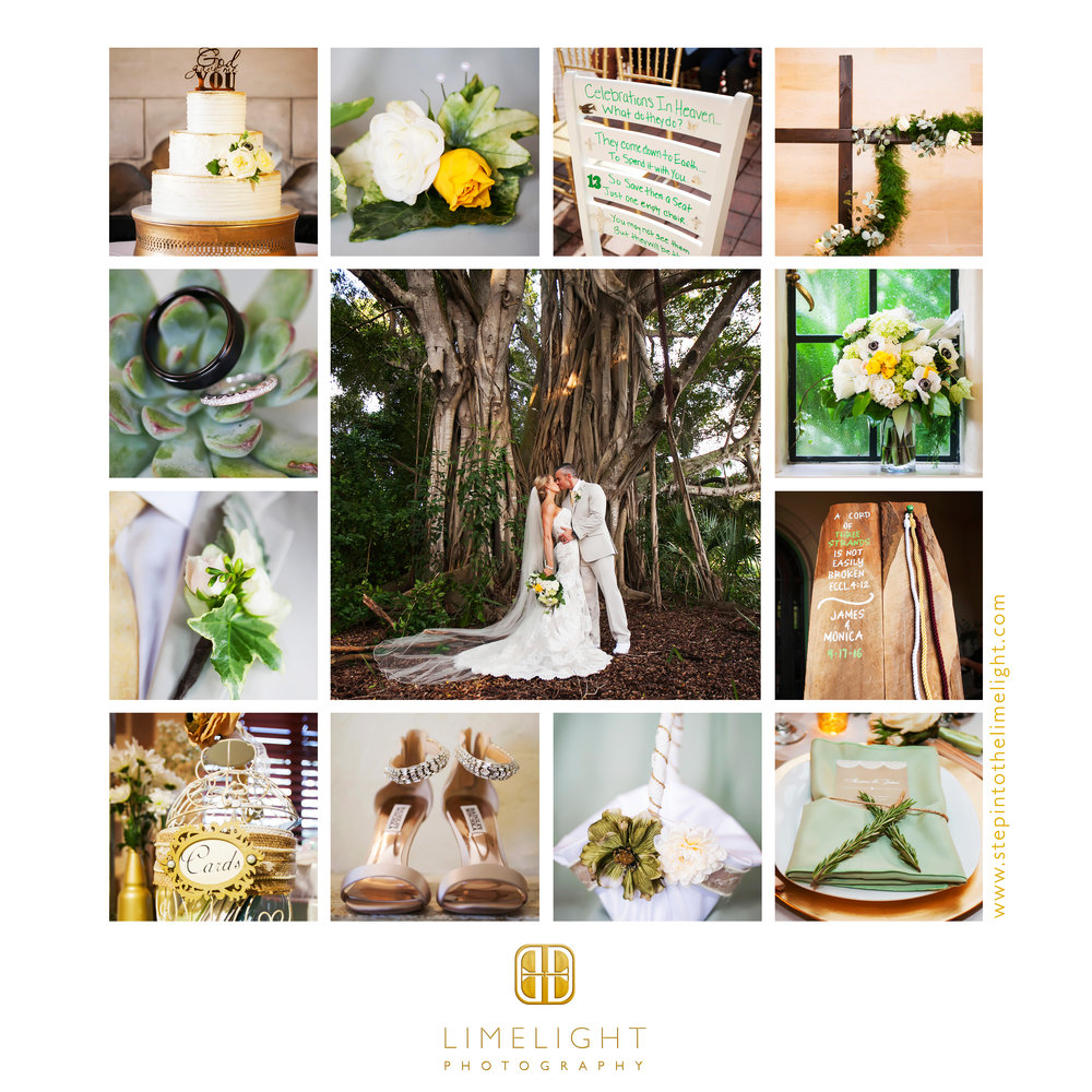 Wedding | Bride | Groom | Powel Crosley Estate | Sarasota | Florida | Step Into The Limelight | Limelight Photography