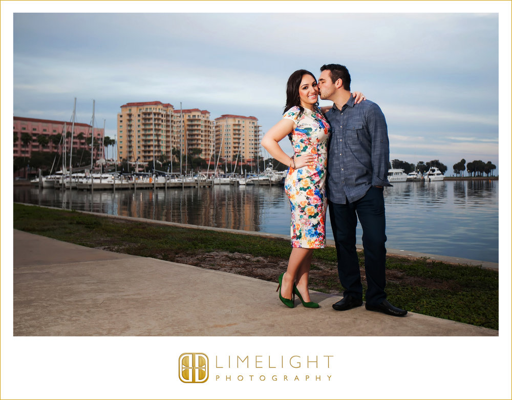 Engagement | Portraits | North Straub Park | St. Petersburg | Florida | Step Into The Limelight | Limelight Photography
