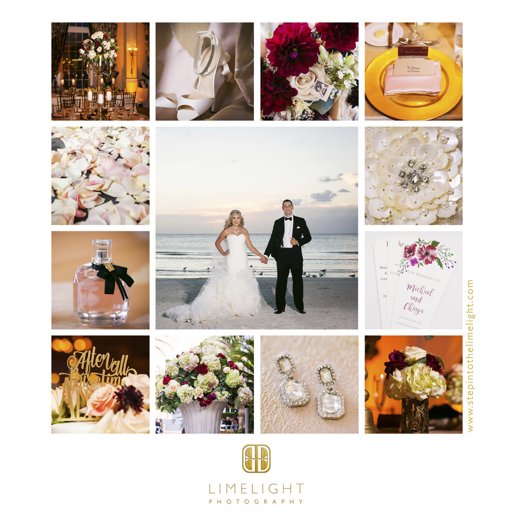 Wedding | Bride | Groom | Don Cesar | St. Petersburg | Florida | Step Into The Limelight | Limelight Photography