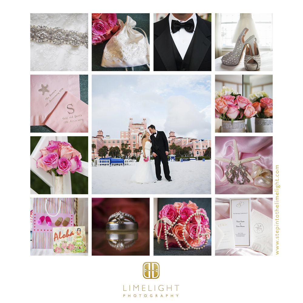 Wedding | Vow Renewal | Don Cesar | Clearwater | Florida | Step Into The Limelight | Limelight Photography