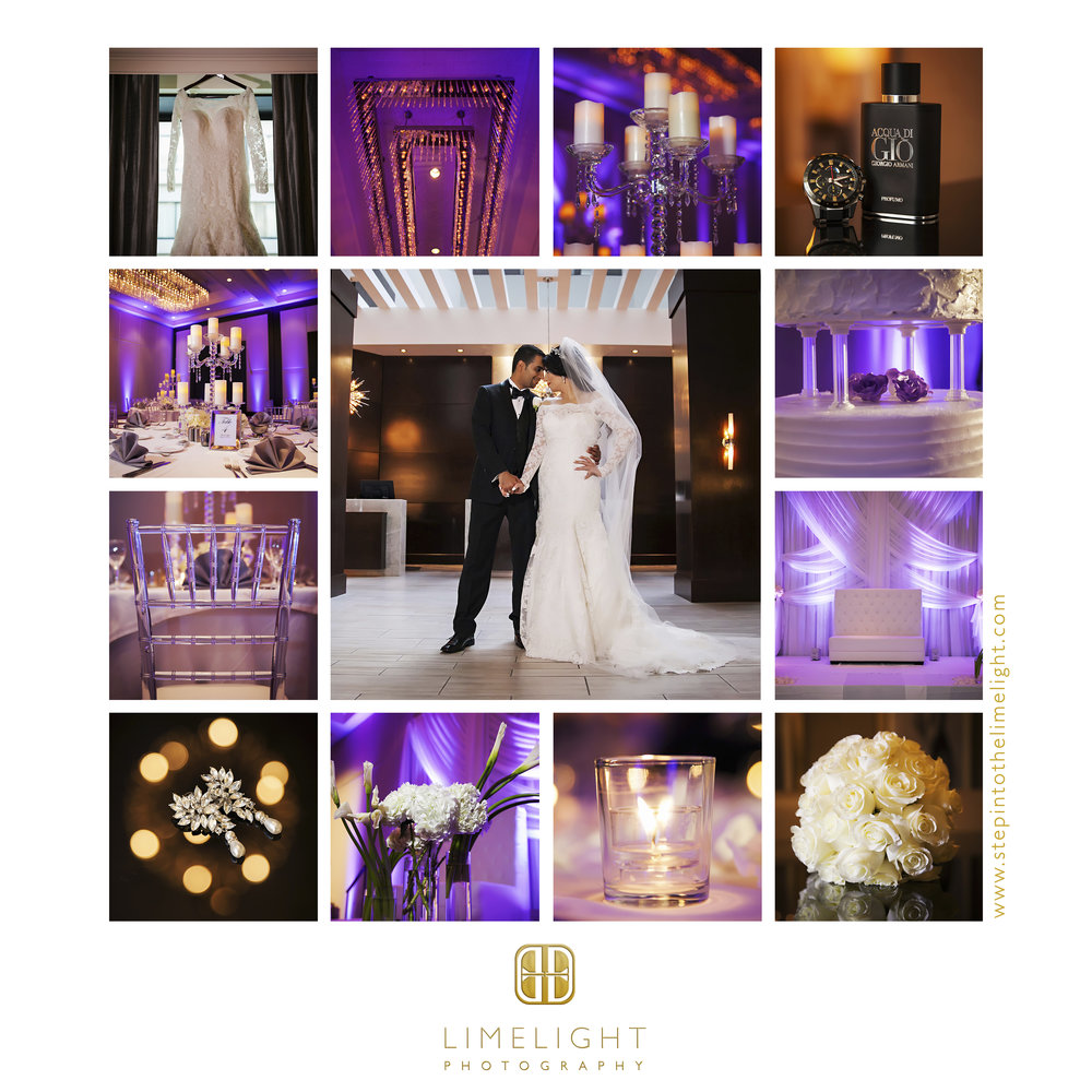 Bride | Groom | Wedding | Hilton Downtown | Tampa | Florida