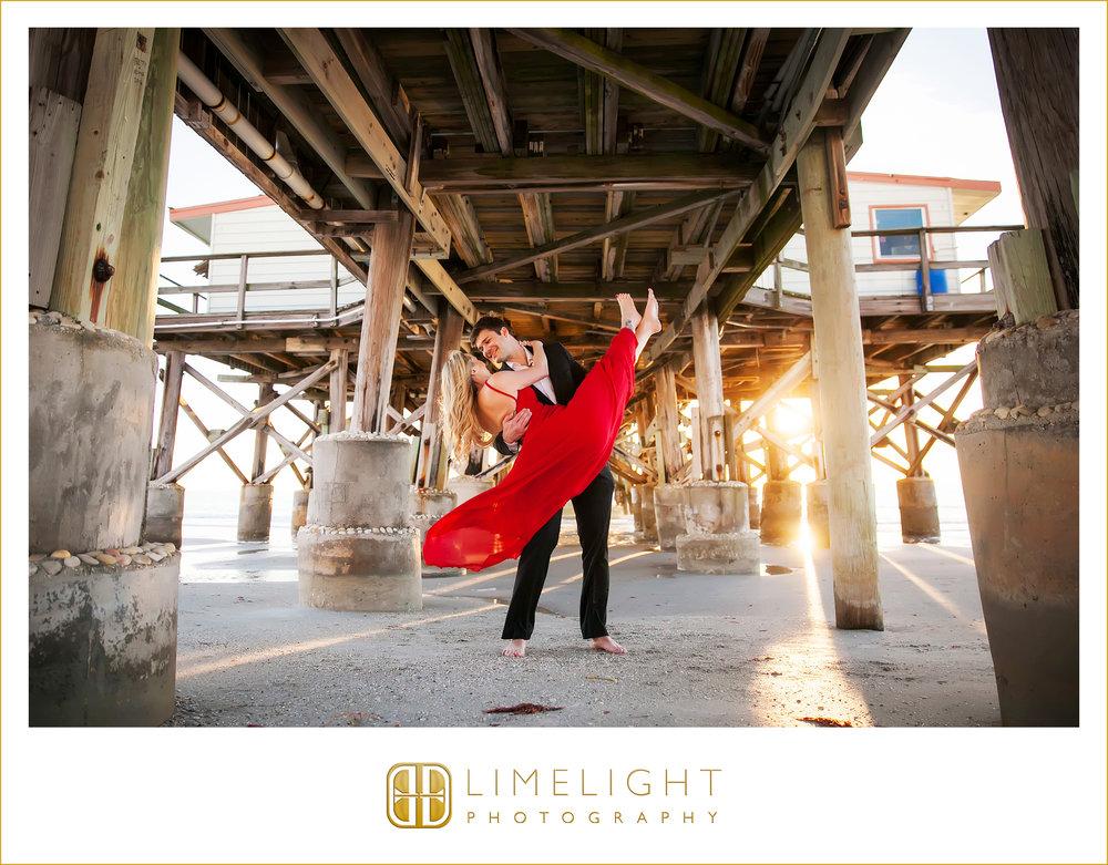 Bride | Groom | Fiance | Wedding | Engagement | John's Pass | Redington Beach | Florida
