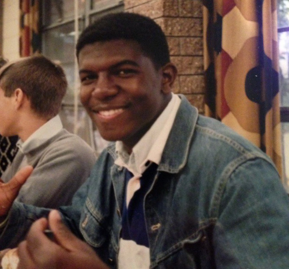 Terry at Interlochen Arts Camp in 1986. Image from  Terry Crews' Instagram .