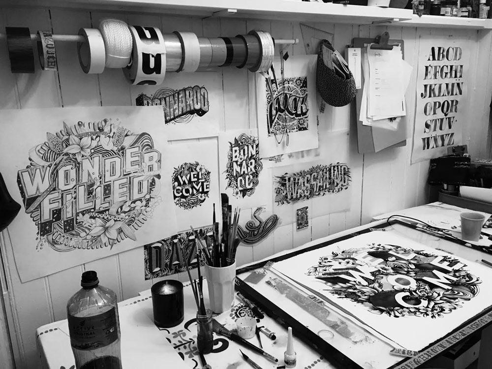 Gemma's studio
