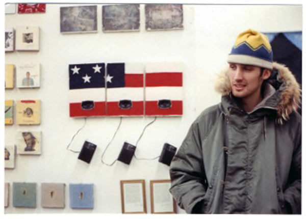 Young designer David at RISD