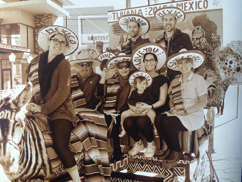 The Aguiñiga family