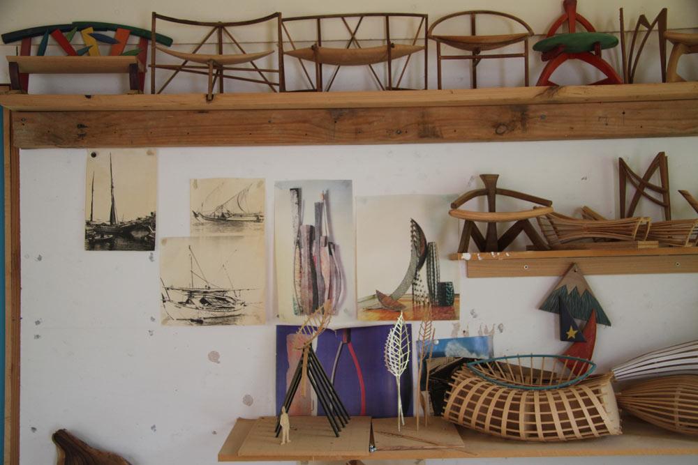 In David's Studio